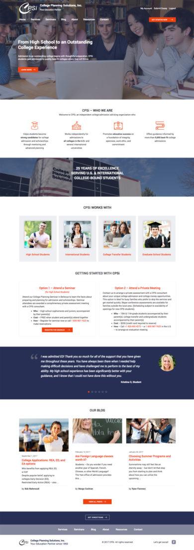 Web Design for CPSi