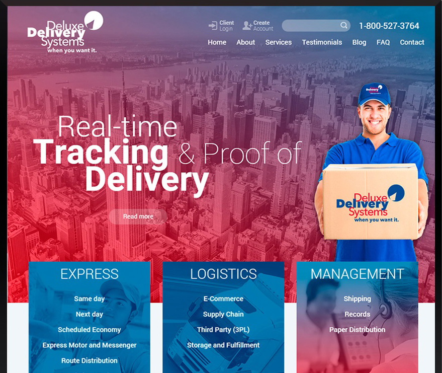 Custom WordPress Deluxe Delivery Systems