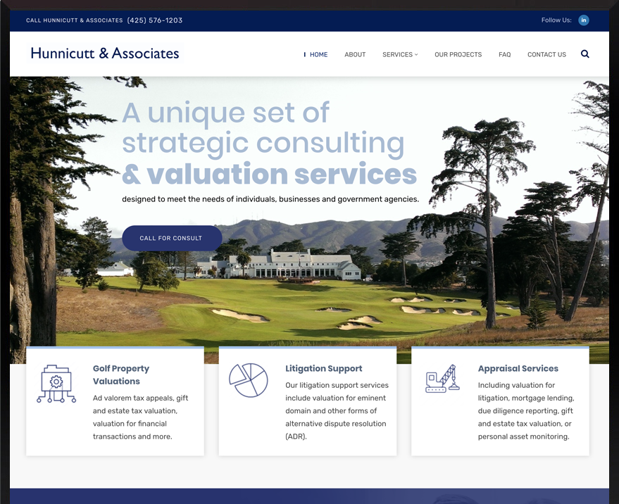 WordPress Hunnicutt & Associates