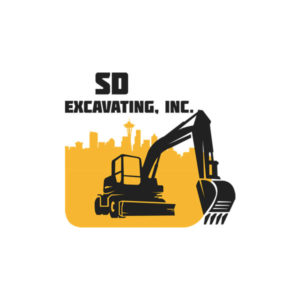 Logo for SD Excavating