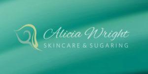 Logo for Alicia Wright, Skincare & Sugaring