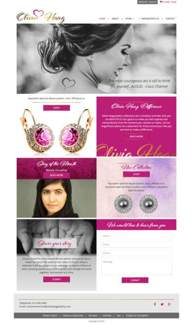 Olivia Haag Jewelry Development