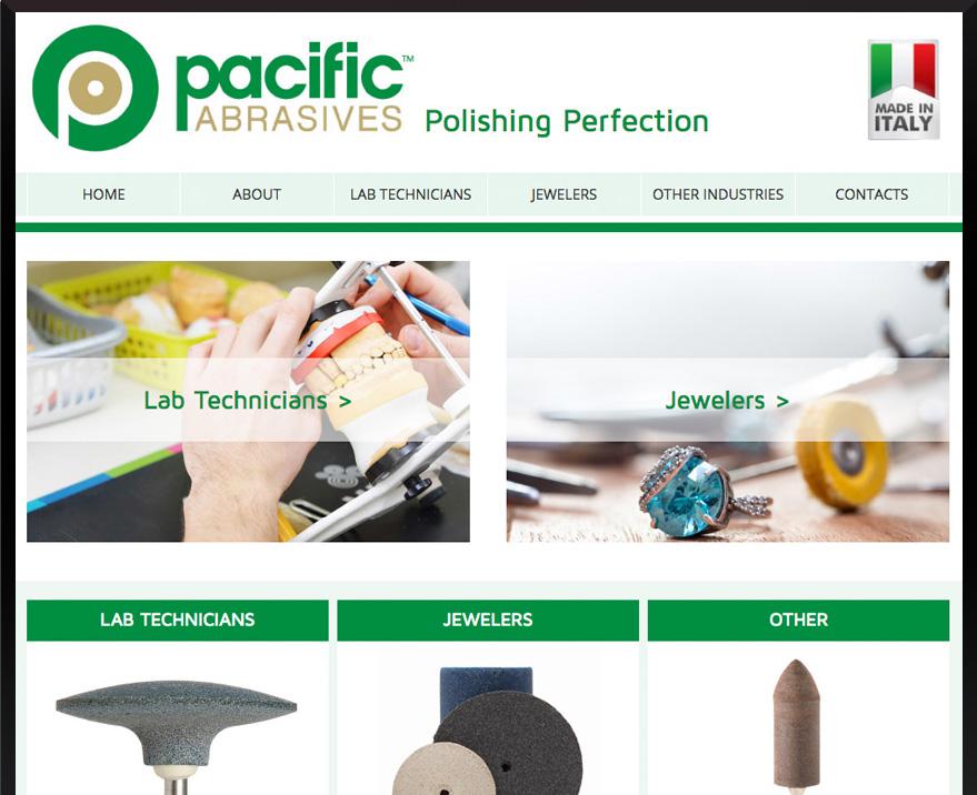 WordPress Pacific Abrasives