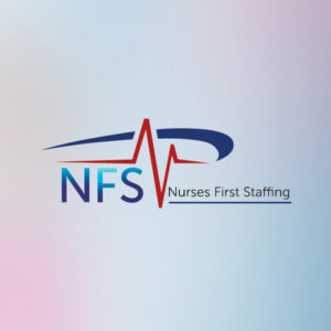 Logo for NFC, Nurses First Staffing
