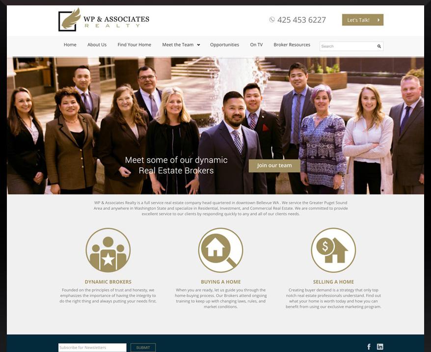 WordPress WP & Associates Realty