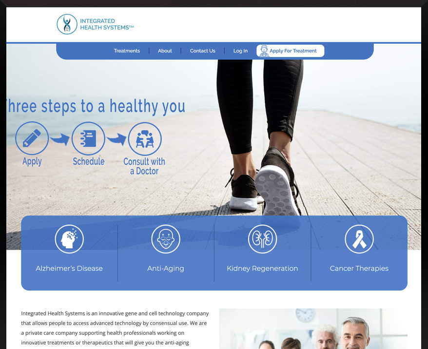 Custom WordPress Integrated Health Systems