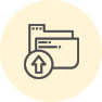 Files and database backups icon