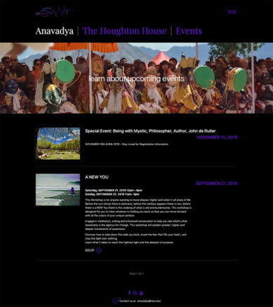 Web Design for Anavadya