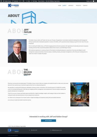 Site Development for Keldoon Group