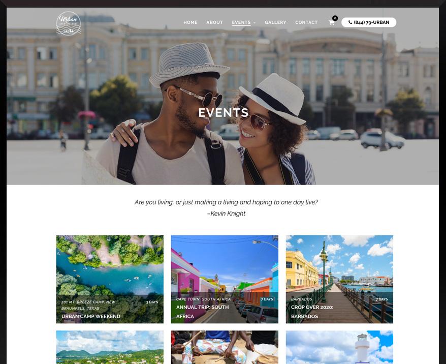 WordPress Urban Events Global