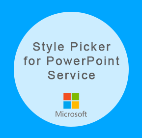 """experts-stylepicker.azurewebsites.net Microsoft is testing a new service called """"Experts"""" for busy PowerPoint users. It matches customers with an experts who can create an amazing presentation for a small fee in just a couple of hours. Style Picker is an interactive part of the experience that was created by Alice Wonder Marketing team that helps exerts understand what kinds of colors, images, and layouts users like the most. Based on the 10 style choices, algorithm selects the right style the presentation."""