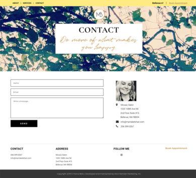 Wordpress Development for Marta Belo Color Expert