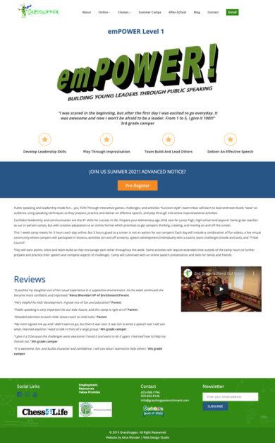 Wordpress Development for Grasshopper