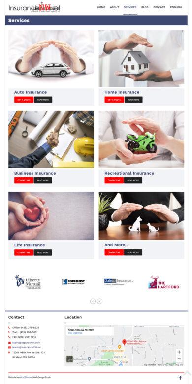 Web Development for Mario Reyes Agency